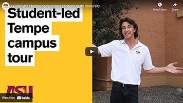 Video ASU Tempe campus